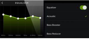 Ecualizar Spotify en Android