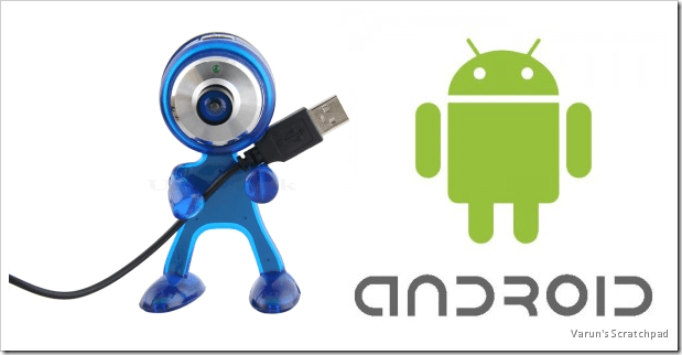 Utilizar tu Android como webcam