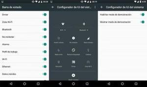 Menú secreto de Android 6.0 Marshmallow