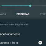 Configurar el modo prioridad en Android Lollipop