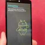 Desactivar la encriptación automática en el Nexus 6