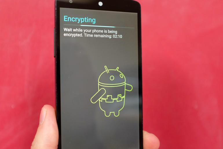 Desactivar encriptación automática en Nexus 6