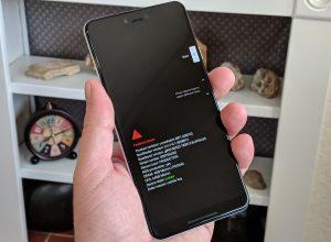 Desbloquear el bootloader en el Pixel 3 o 3 XL