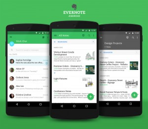 Mejores trucos para evernote en Android