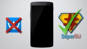 Reemplazar KingUser por SuperSU en Android