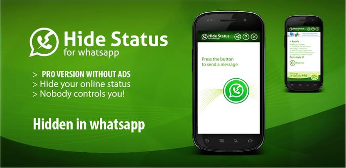 Hide Status Whatsapp Tutorial Android