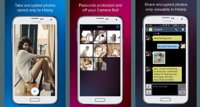 Cómo compartir imágenes de forma privada en Android