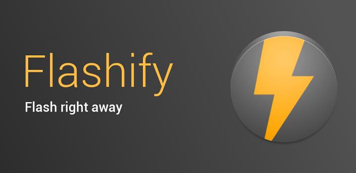 Instalar un modo de recuperación personalizado con Flashify