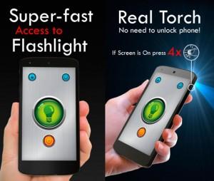 Encender la linterna de tu Android desde el botón de encendido