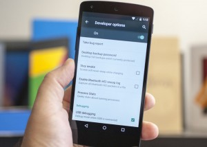 Configurar Android para zurdos
