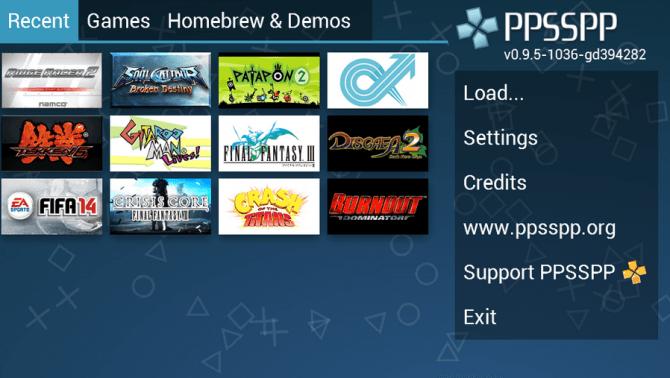 Jugar juegos de PSP en Android