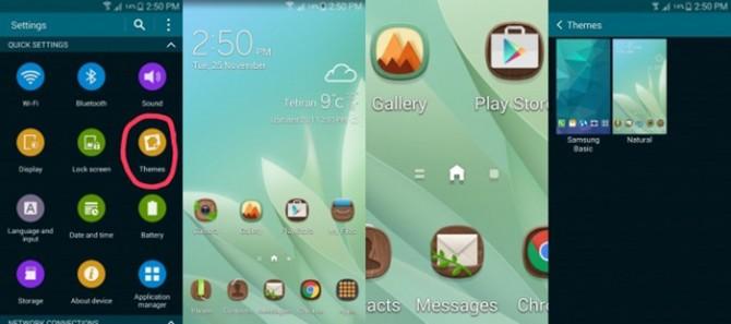 Themes para TouchWiz