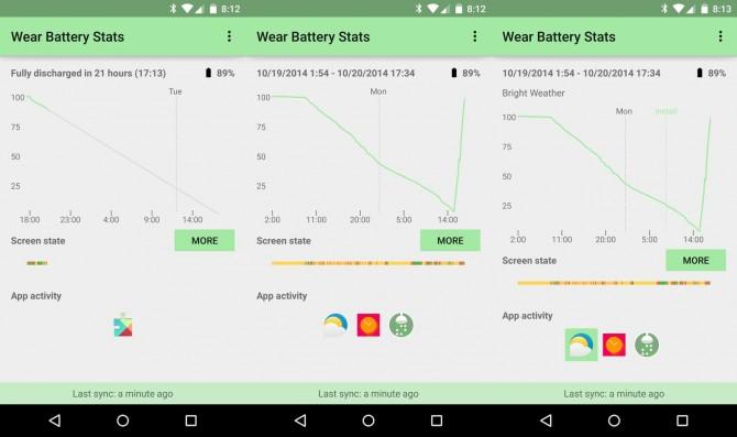 como ver y optimizar el uso de la batería en Android Wear