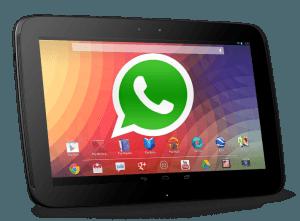instalar WhatsApp en cualquier tableta