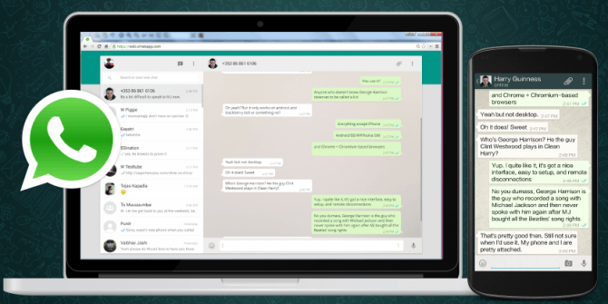 Usar WhatsApp Web en una tableta Android