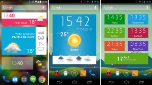 Mejores widgets para Android