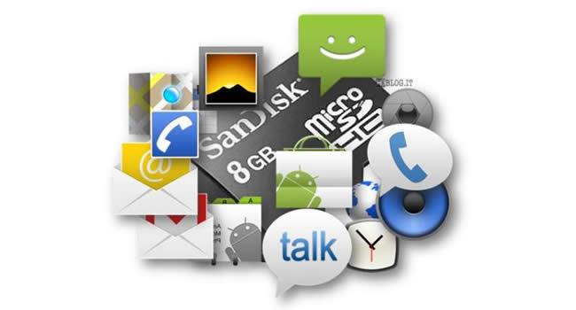 Transferir aplicaciones Android a la tarjeta Micro SD