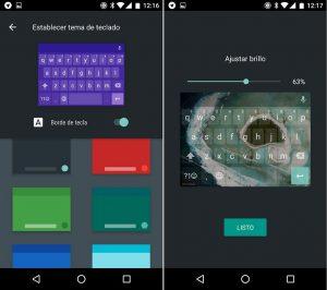 Instala y modifica el teclado de Android 7.0
