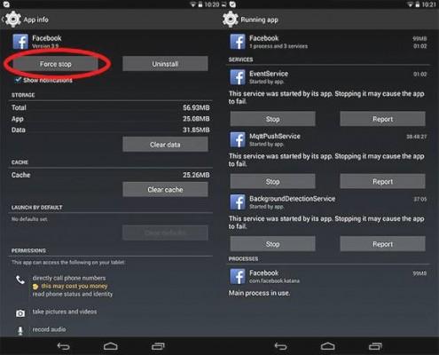 Cerrar por completo una aplicación en Android