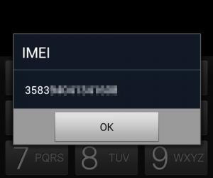 Recuperar el IMEI en un teléfono Samsung