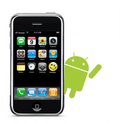 Transferir contactos de iPhone a Android