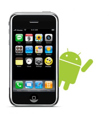 Transferir contactos de iPhone a Android