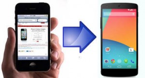 Transferir fotos de iPhone a Android