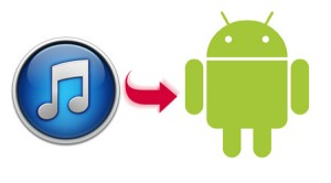 sincronizar biblioteca musical de iTunes en Android