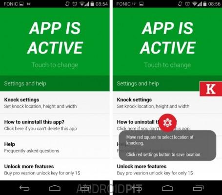 Usa la función 'Knock On' en cualquier Android