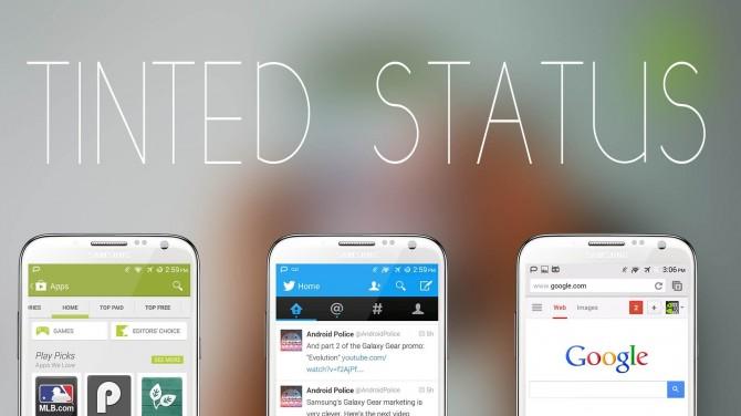 Cambia el color de tu barra de notificaciones en Android