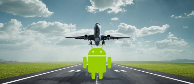 Modo avion Android
