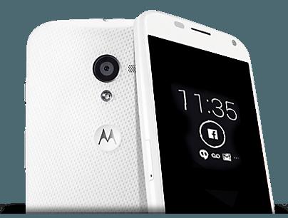personalizar la pantalla inteligente del Moto X