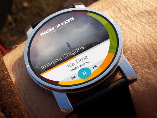 Guardar y reproducir música en Android Wear