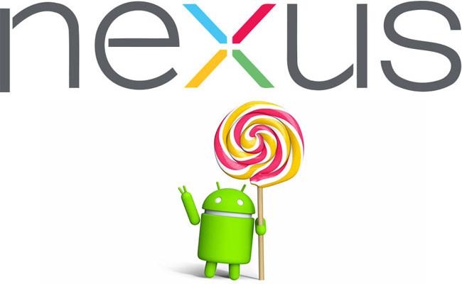 Actualización Nexus a Android 5.0 Lollipop