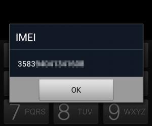 Como recuperar el número IMEI en Android