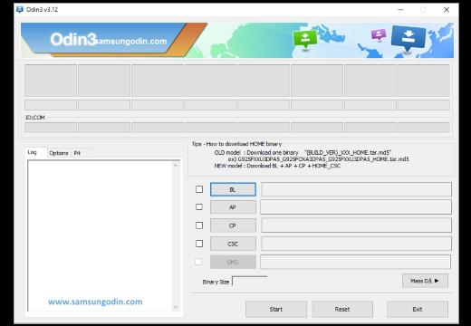 Instalar TWRP usando ODIN