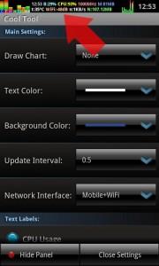 Mostrar información en la barra de estado de Android
