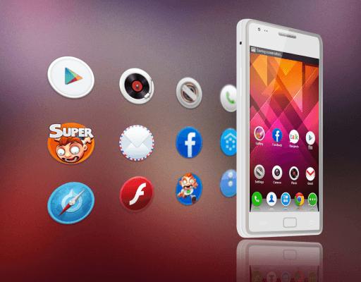 cambiar los iconos de la pantalla principal en Android