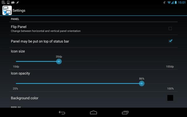Grabar y repetir acciones táctiles en tu Android