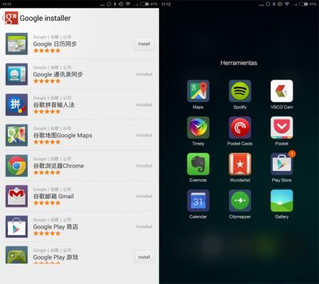 Instalar las aplicaciones de Google en un Xiaomi